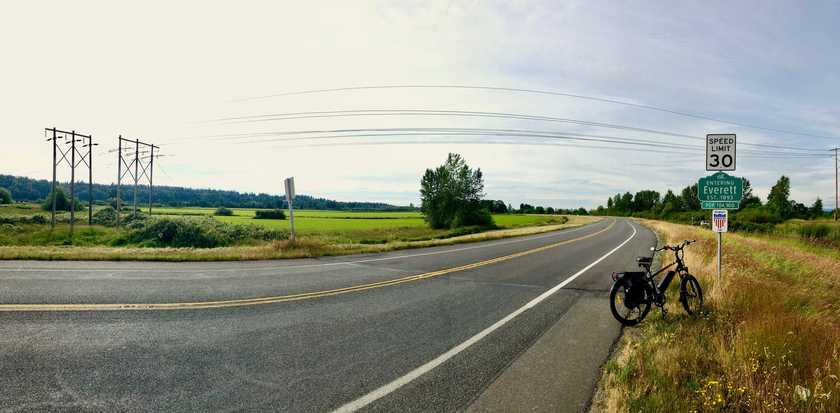 100 miles biking milestone cover image