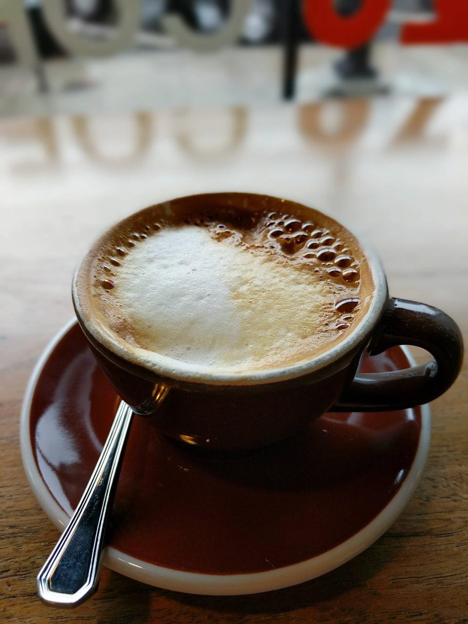 Espresso at Ozo Coffee in Boulder, CO