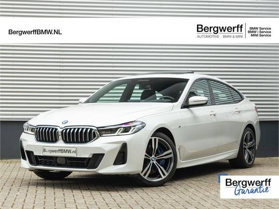 BMW 6 Serie Gran Turismo 630i High Executive - M-Sport - Luchtvering - Facelift - Panorama