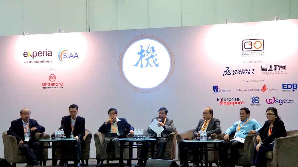 The Robotics Landscape in Singapore and Beyond panel discussion