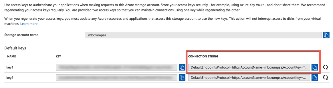- storagethroughcsharp1 - Azure Tips and Tricks Part 82 – Creating your first Azure Storage Table