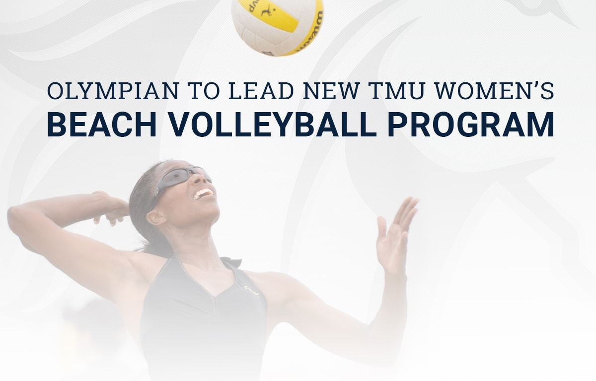 Olympian to lead new women's beach volleyball program at Master's