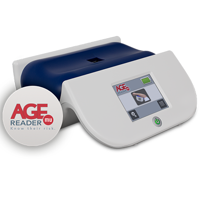 A Diagnoptics AGE Reader