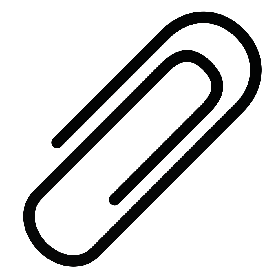 Office equipment paperclip angle