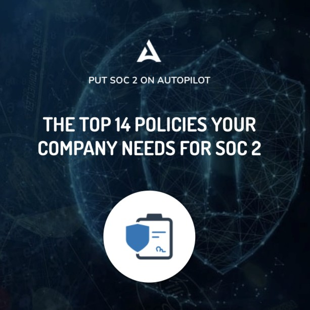 drata policies for SOC 2