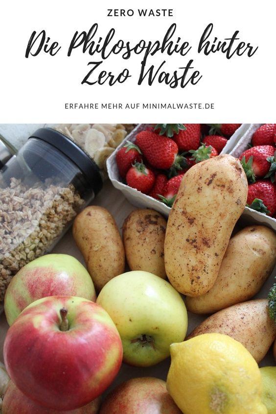 Pinterest Cover zu 'Die Philosophie hinter Zero Waste'