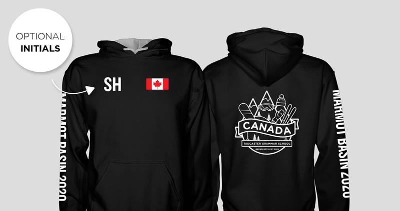 Tadcaster Grammar School Canada Ski Hoodies 2020