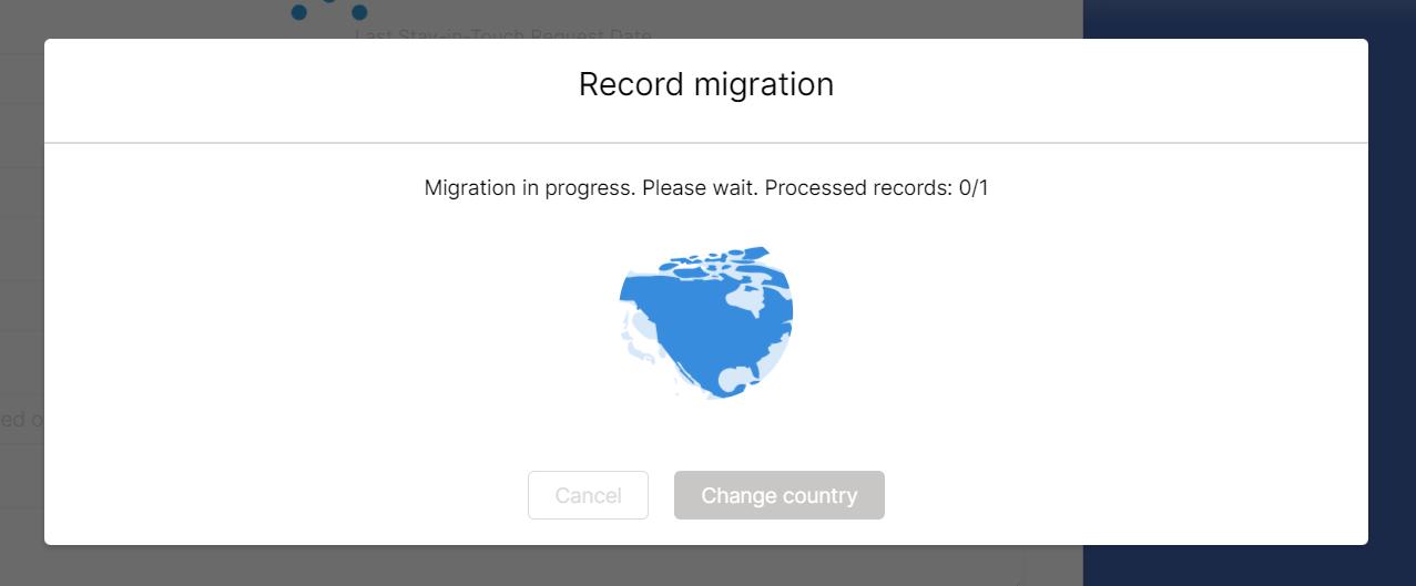 Record migration form - in progress 2