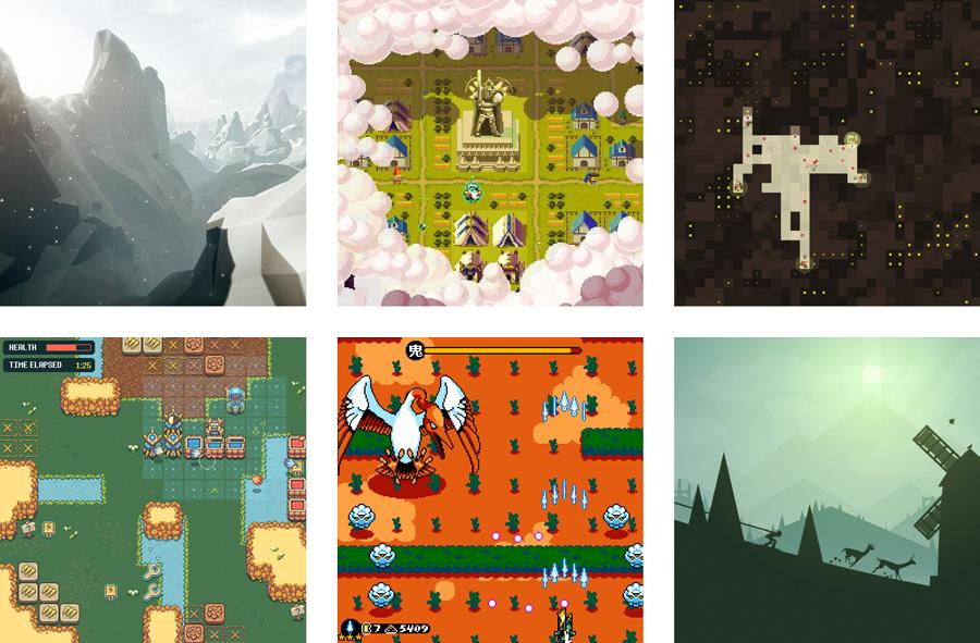 Game squares