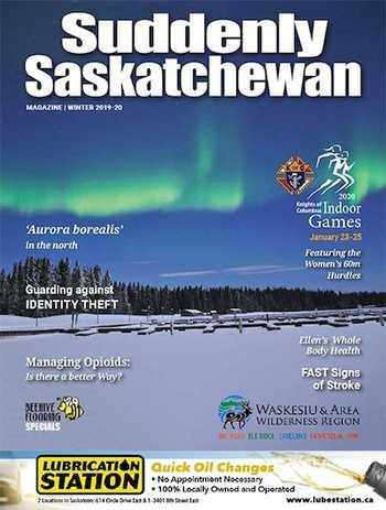 Suddenly Saskatchewan Magazine - Issue: Winter 2020