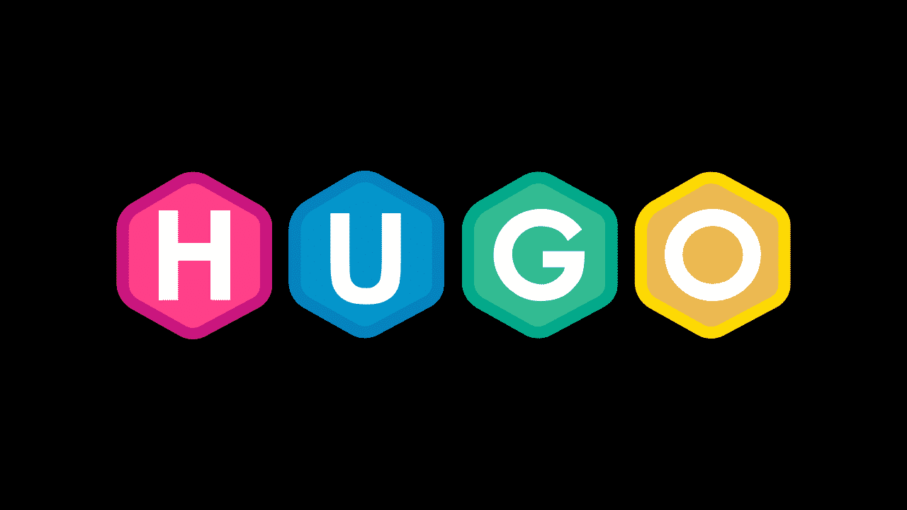 Logo for the Hugo static site generator.