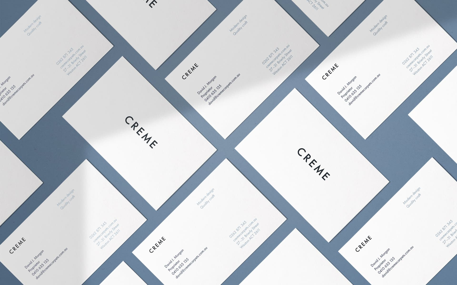 High-end business card design