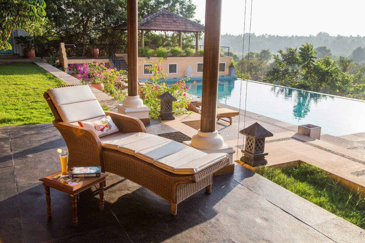 Beste luxe villa met privézwembad in noord Goa