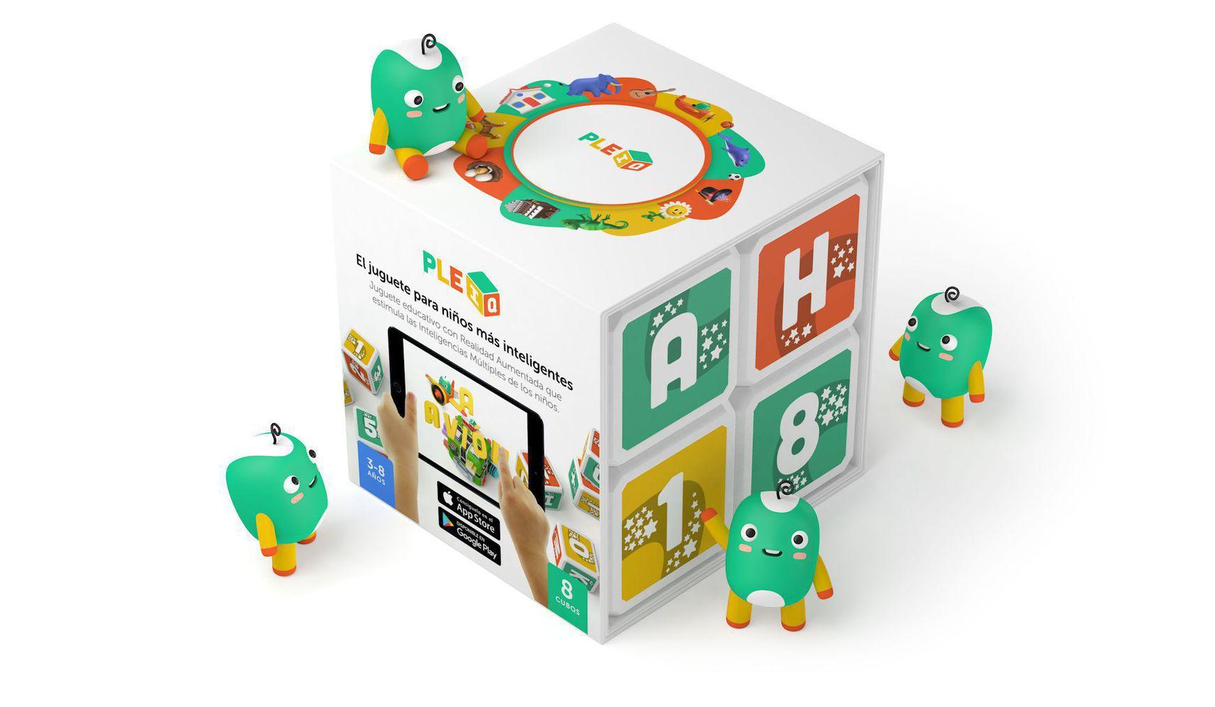 Pleiq box with cubes