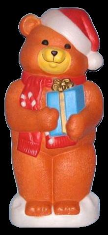 Christmas Teddy Bear photo