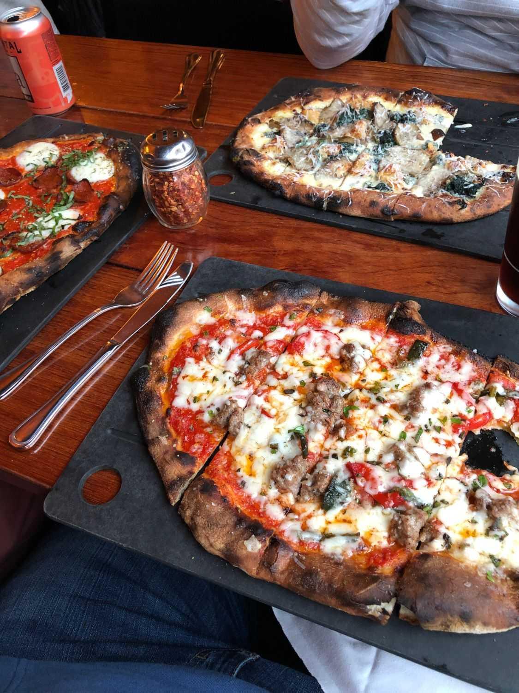 Serious Pie pizza