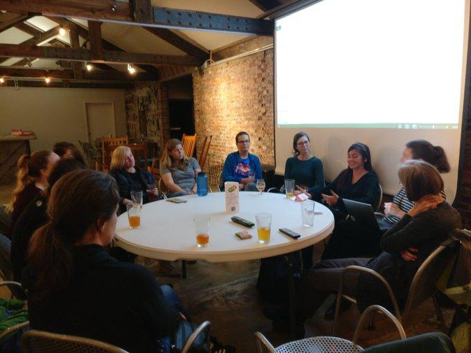 RLadies Data discussion 2019