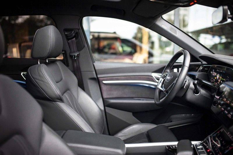 Audi e-tron 55 Quattro *4% Bijtelling / Prijs Ex. BTW / B&O / Stad & Tour pakket / Pano / ACC* afbeelding 6