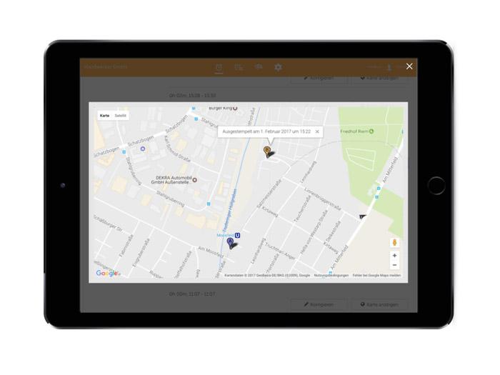 GPS Standortermittlung