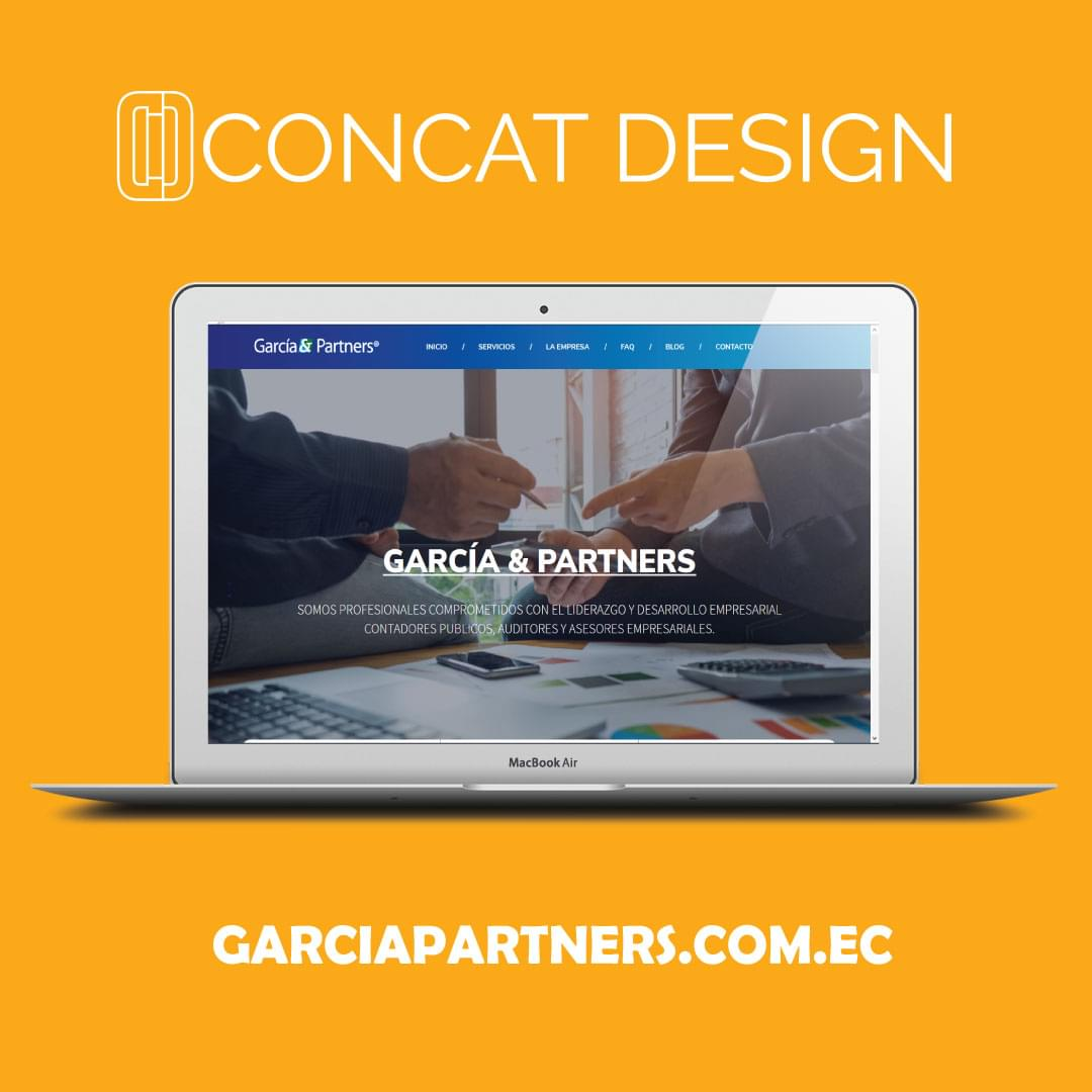Sitio Web Garcia & Partners
