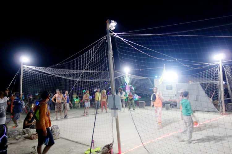 Burning Man Dodgeball