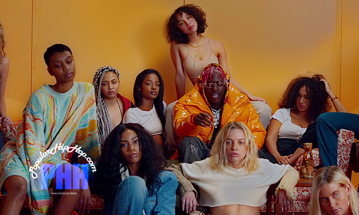 Lil Yachty Sits on Couch With Multiple Girls in new rap video, Get Drippedon