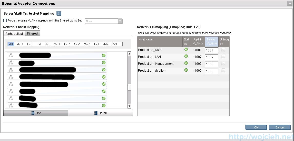 HP Virtual Connect Module Configuration - Server Profiles 6