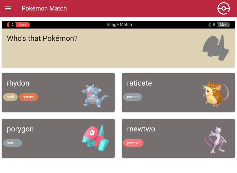 Pokémon Match