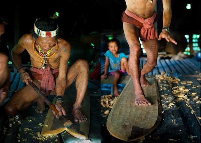 Fumes - A Shaman, His Family and his First Alaia Surfboard - photo by ALEJANDRO PLESCH