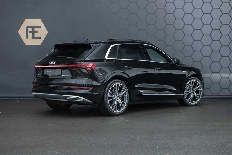 Audi e-tron 55 quattro Advanced Pro Line S 2019 4%+ Excl. BTW+ Full option afbeelding 10