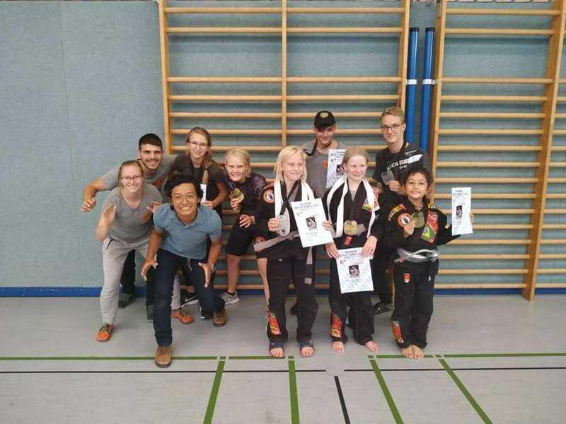 BJJ Turnier: Bavarian Battle Trials - Team Laurien & Alex