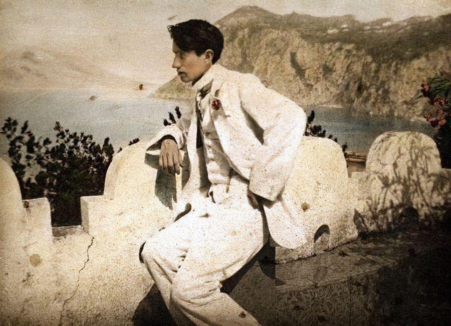 Сигизмунд Кржижановский в Италии, 1912 год / kino-teatr.ru