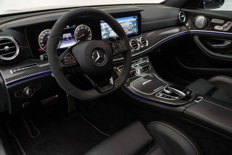 "Mercedes-Benz E-Klasse E63s AMG EDITION 1 4Matic 612pk (MAGNO MAT) Panoramadak Distronic Nightpakket Schaalstoelen Burmester Carbon ComandOnline Keyless 20"" Parktronic Pdc afbeelding 19"