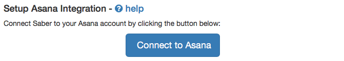 Asana Integration Stage 1