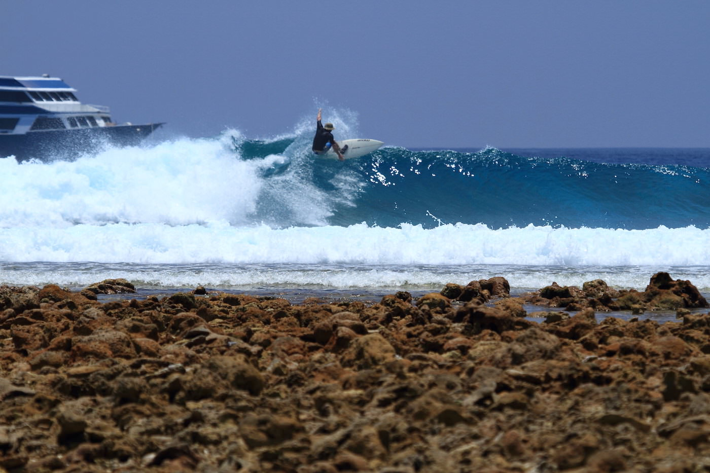 Blue Star Open Boat Surf Charter Maldives Waves