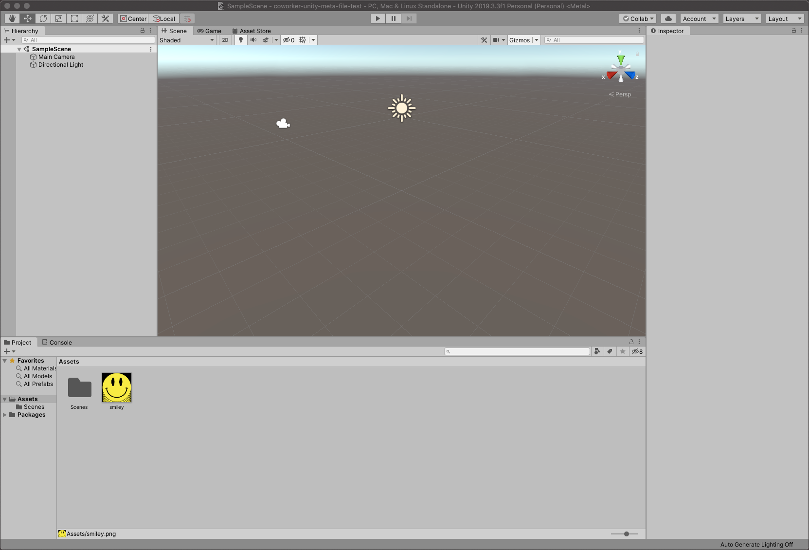 Asset shown in Unity Editor