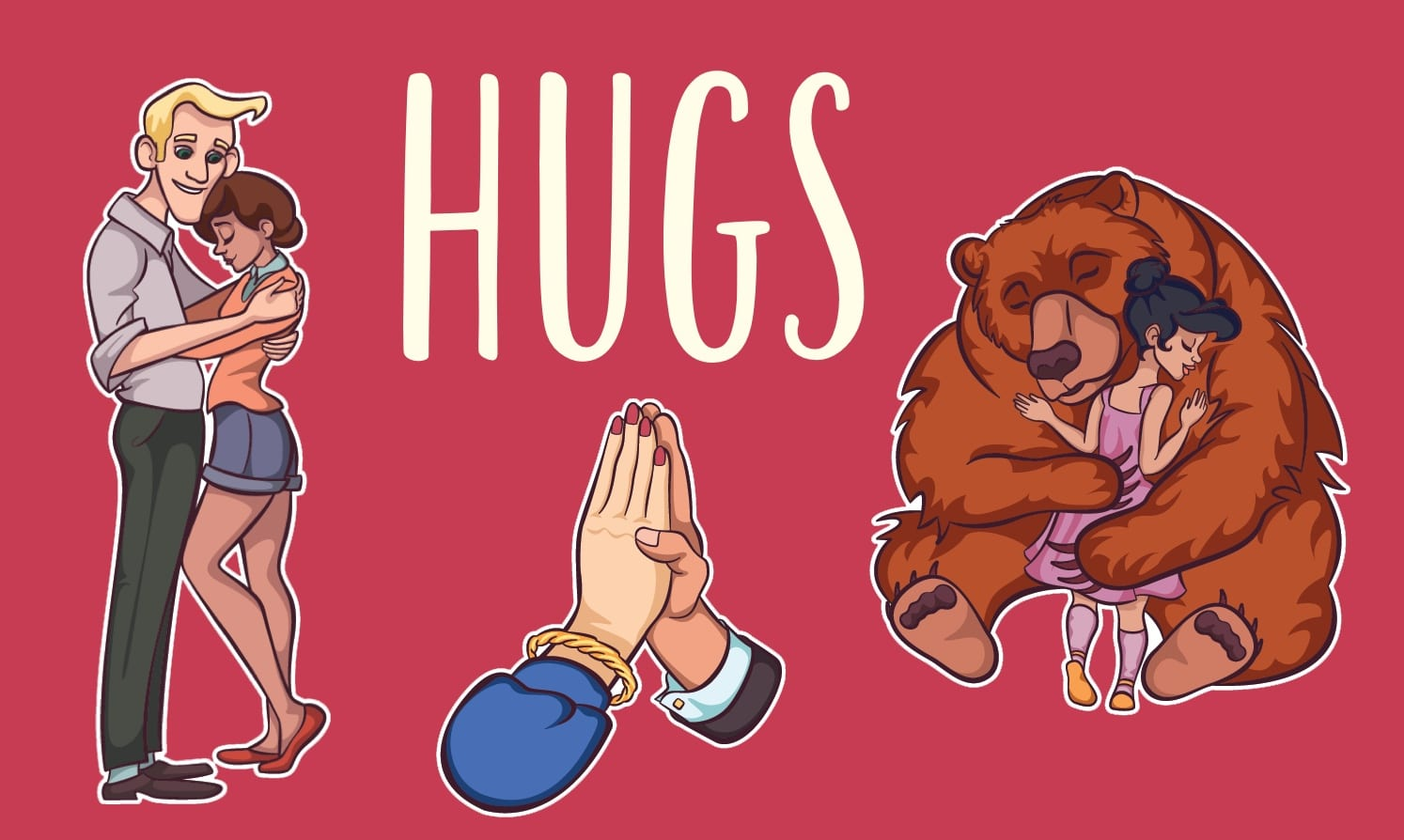 Hugs card game