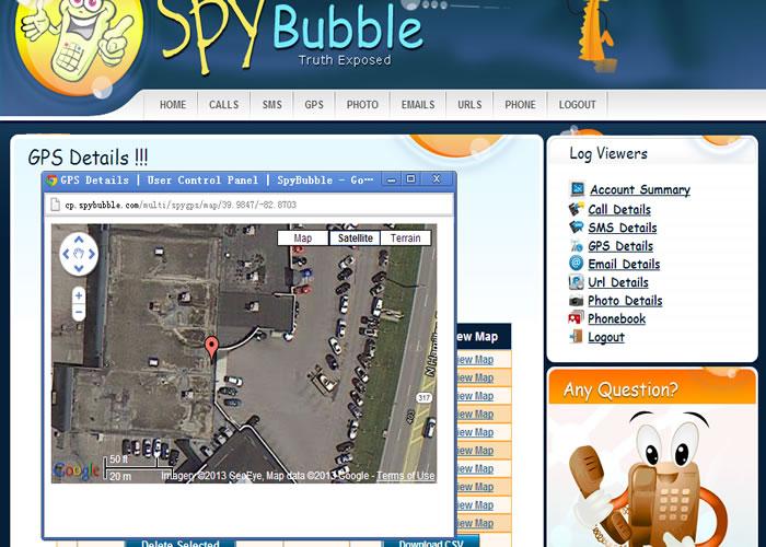 Aplikasi SADAP HP dengan SpyBubble - Lacak Lokasi