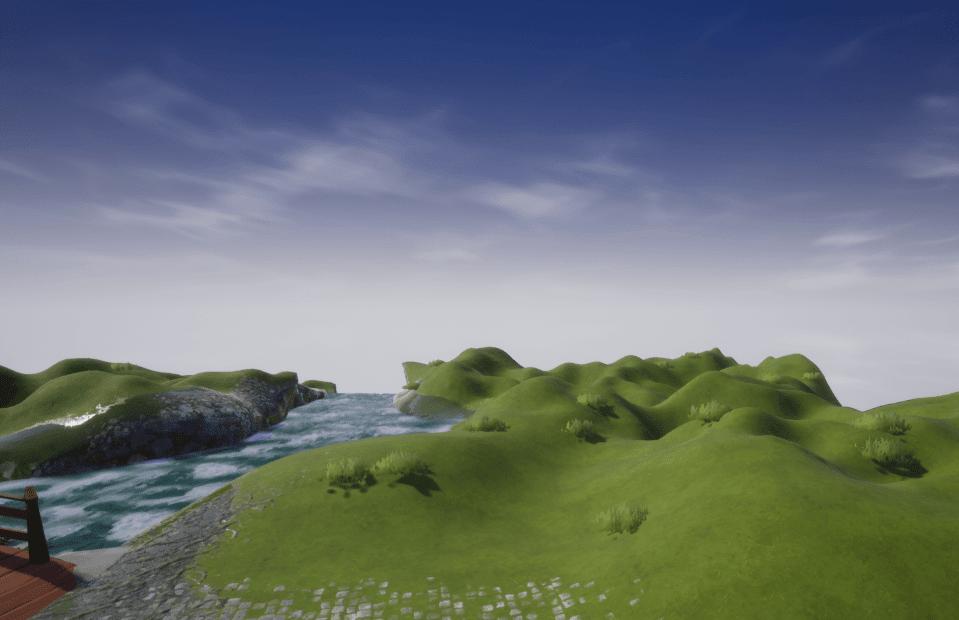 Grass on the Grassy Terrain
