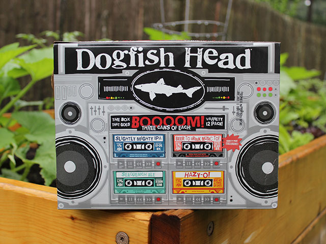 The Box That Goes Boom Variety Pack from Dogfish Head Brewery