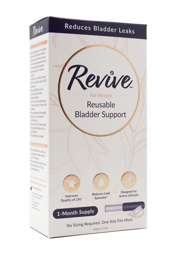 Revive Packaging Box Front Angle