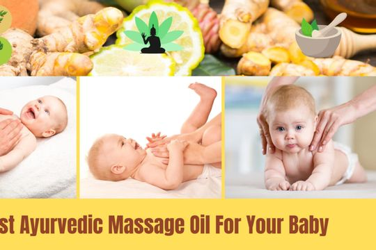Best Ayurvedic oil for newborn baby massage in India [2021]-( ͡° ͜ʖ ͡°) - Featured image