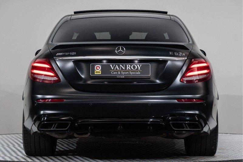 "Mercedes-Benz E-Klasse E63s AMG EDITION 1 4Matic 612pk (MAGNO MAT) Panoramadak Distronic Nightpakket Schaalstoelen Burmester Carbon ComandOnline Keyless 20"" Parktronic Pdc afbeelding 13"
