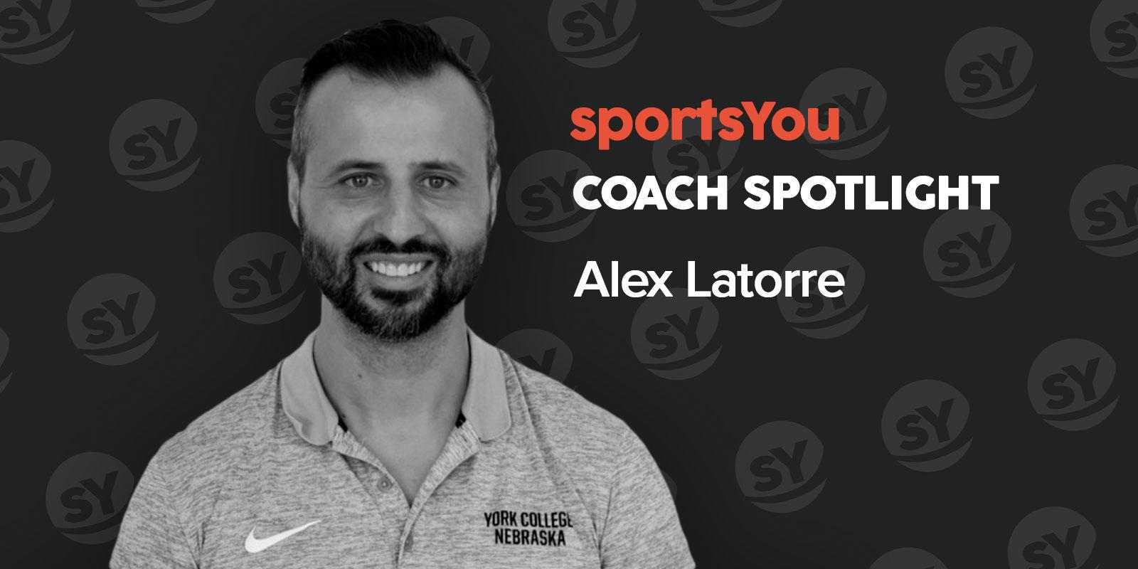 sportsYou Coach Spotlight: Q&A with Coach Alex Latorre - Photo by sportsYou Photography