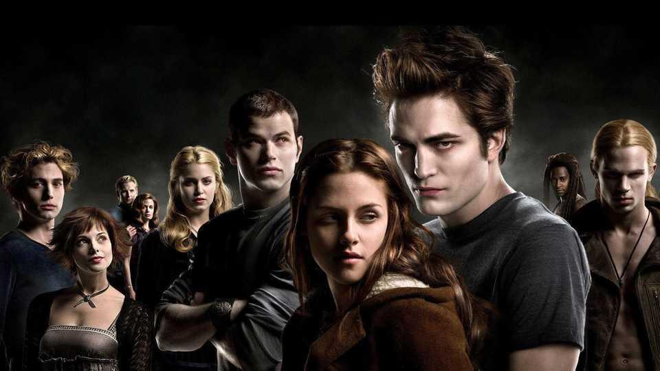 Stewart and Pattinson in Twilight