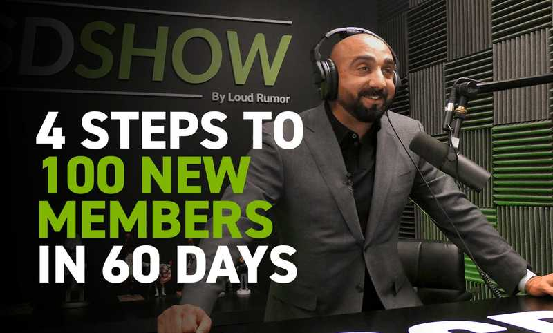4 Steps to 100 New Members in 60 Days