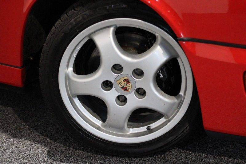 Porsche 911 964 Carrera 2 Historie bekend, Airco, Schuifdak, Leder interieur, Achterruitenwisser afbeelding 10