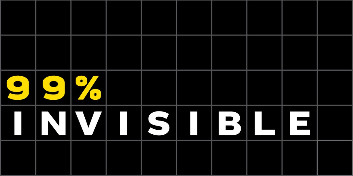 99% Invisible podcast logo. Image credit: 99% Invisible