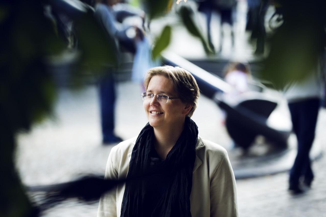 Portret van Lotte Jensen