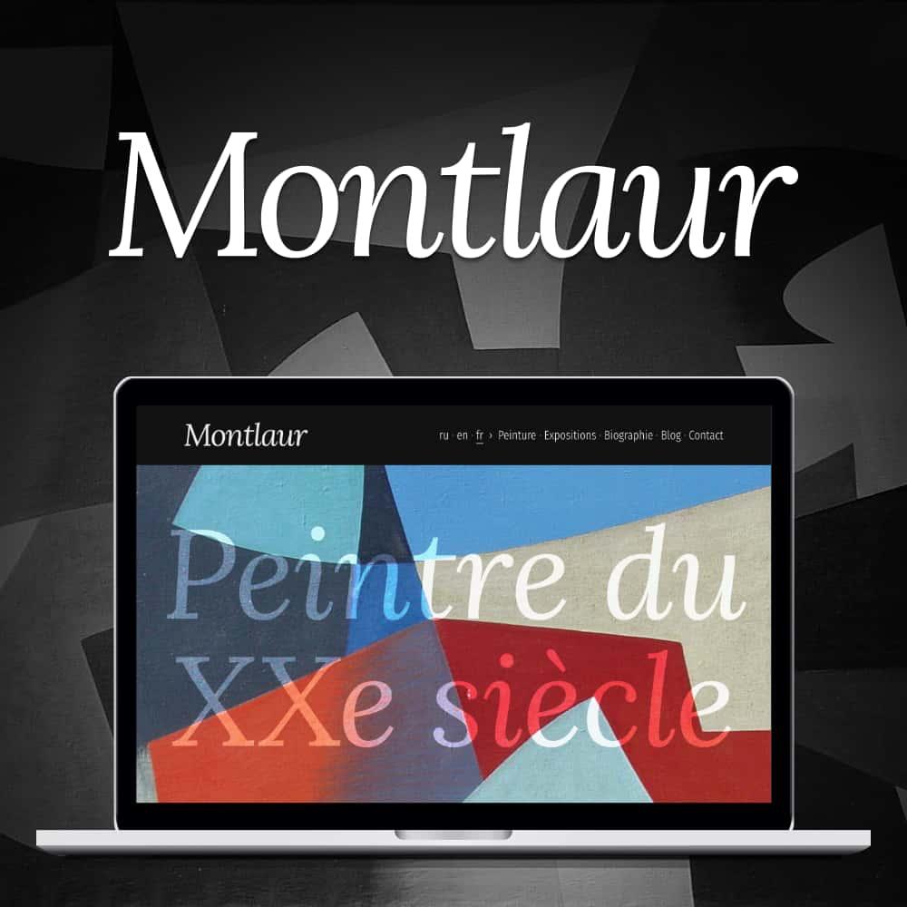 Capture d'écran du site du site Montlaur.net